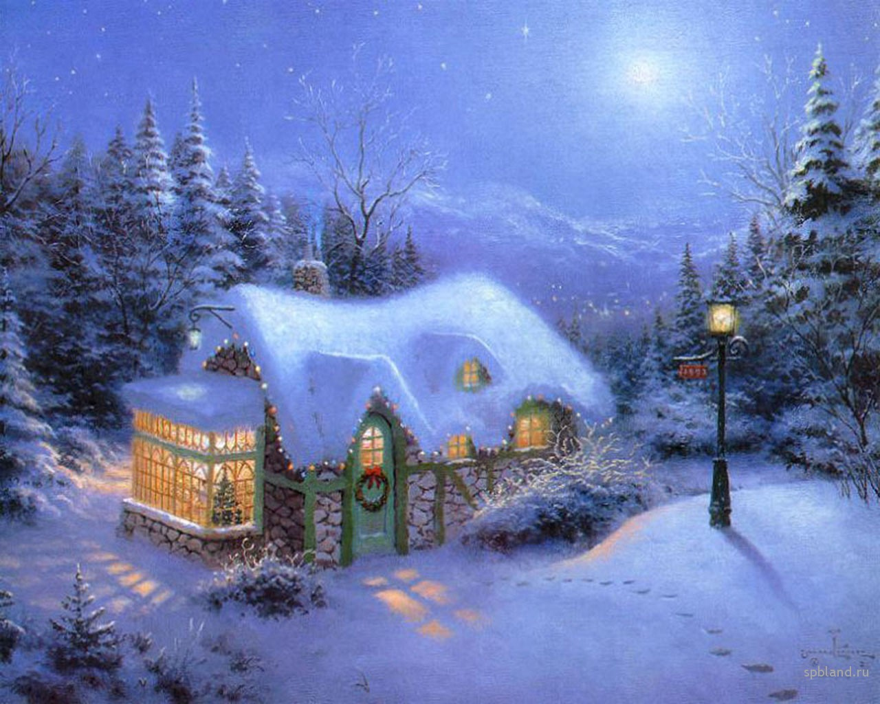 collection of christmas wallpapers for pc on hdwallpapers - Animated Christmas Screensavers