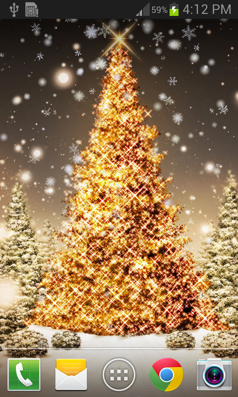 Christmas Snow Live Wallpaper - Android Apps on Google Play