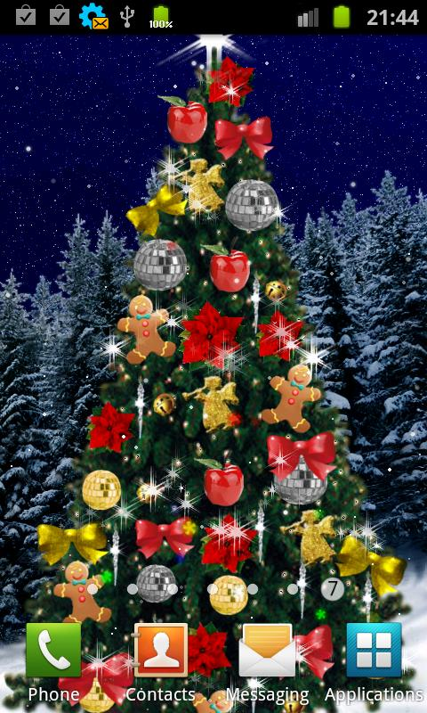 christmas tree live wallpaper android apps on google play - Live Christmas Wallpapers Free