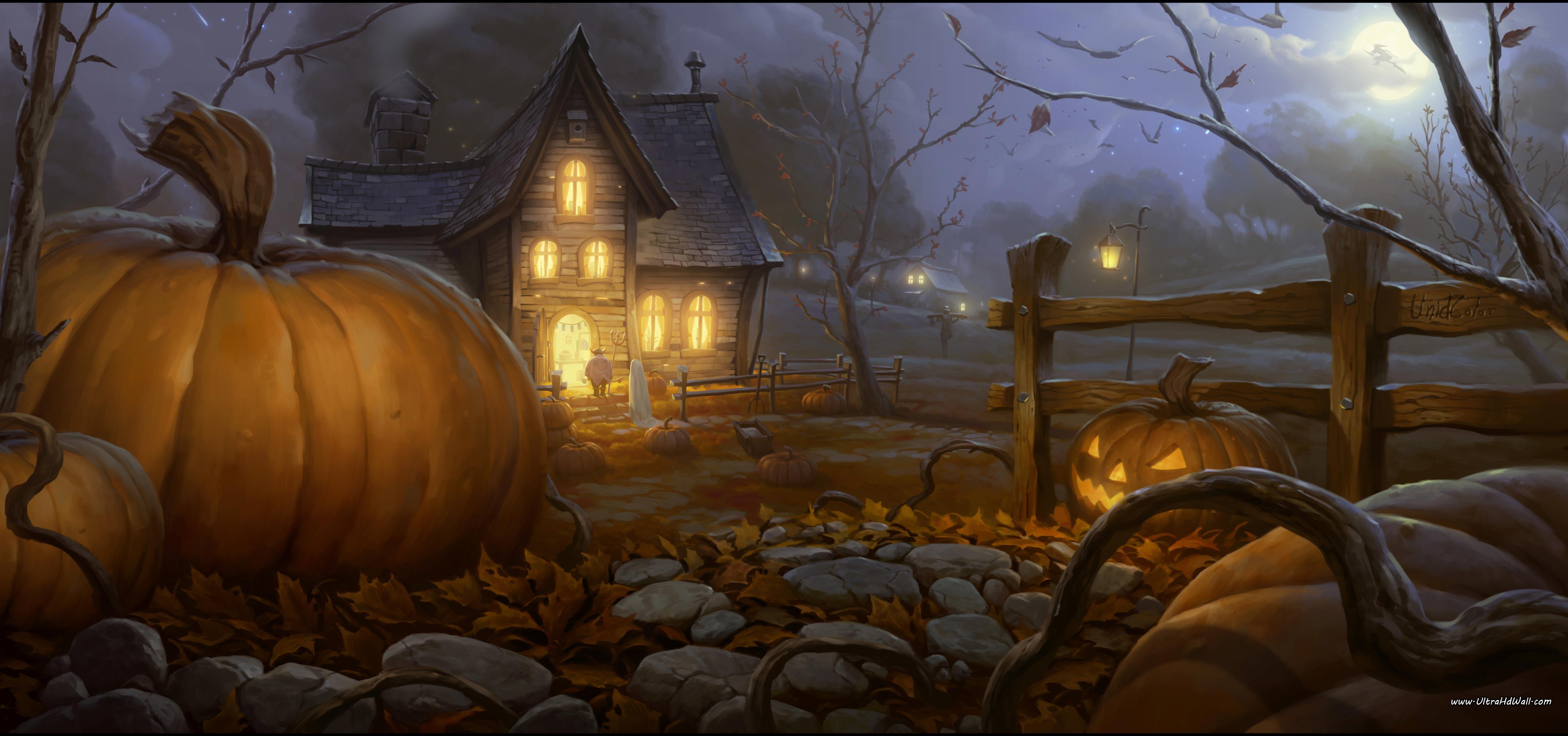 Desktop Halloween Wallpaper - WallpaperSafari