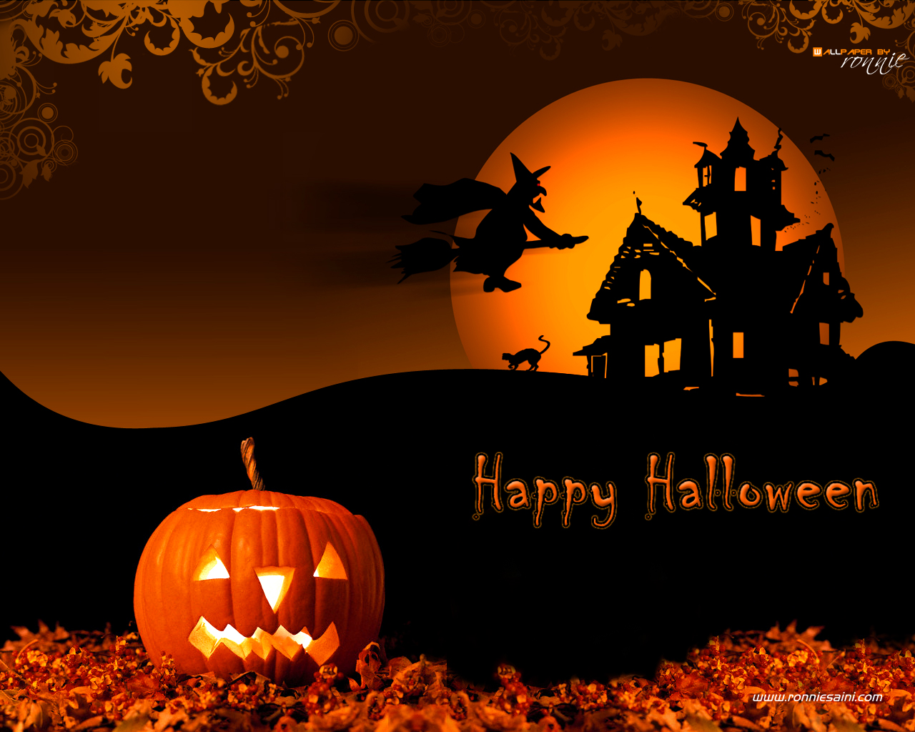 Free Desktop Halloween Wallpaper - WallpaperSafari