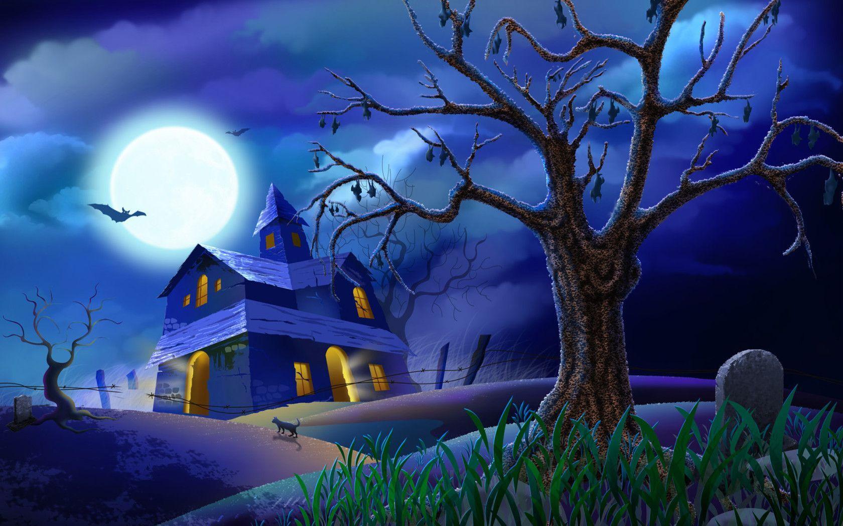 Halloween Free Desktop Wallpapers - Wallpaper Cave