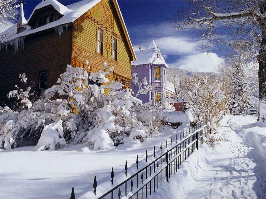 Free Winter Snow Desktop Wallpaper - WallpaperSafari