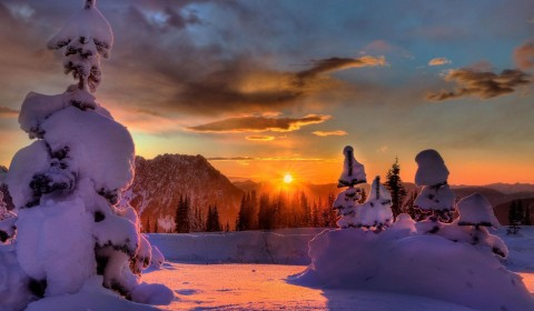 Free Desktop Winter Wallpaper Backgrounds - WallpaperPulse