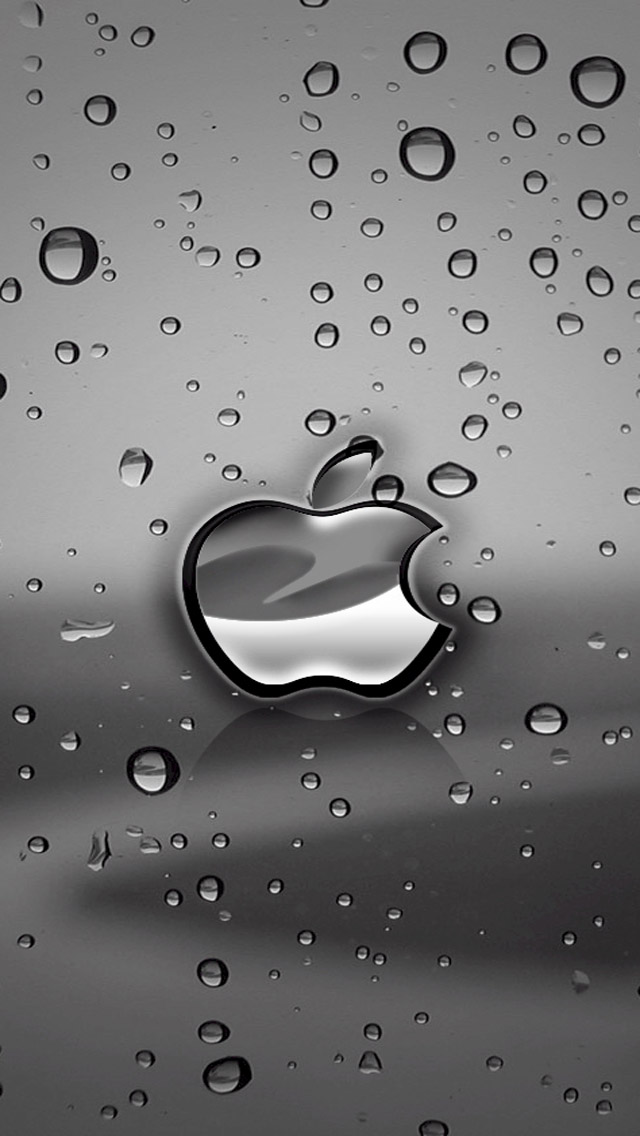 Free Download Apple Logo iPhone 5 HD Wallpapers | Watery Wallpaper