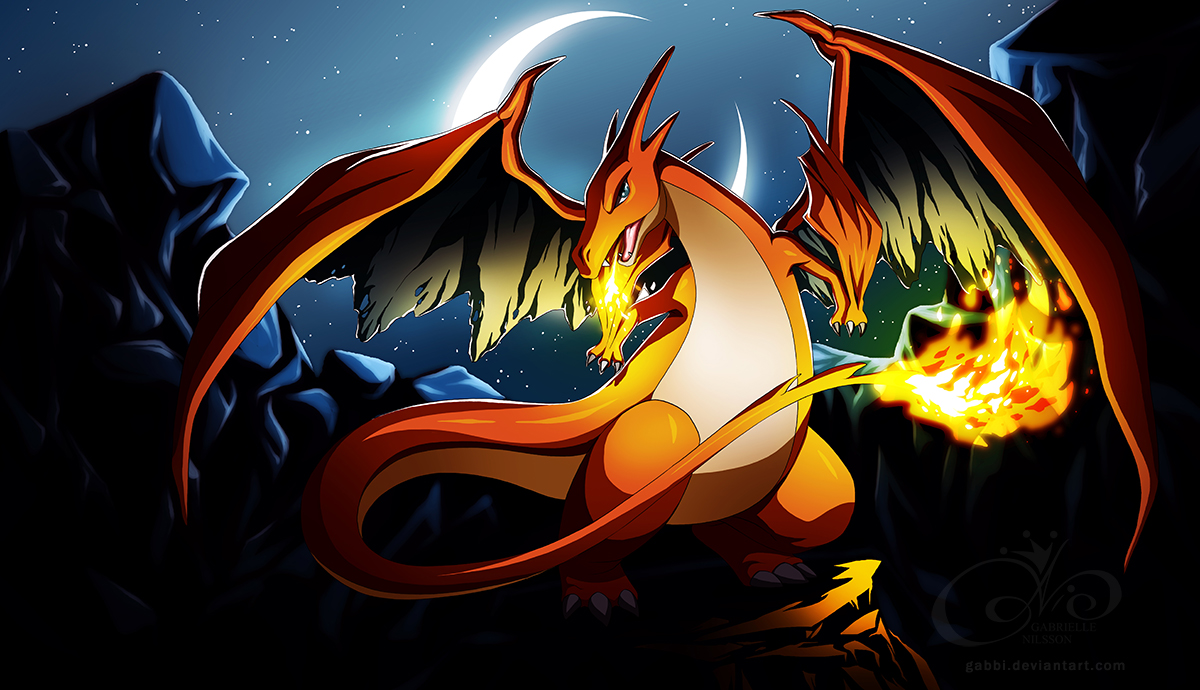 Download Pokemon Mega Evolution Charizard Images HD Wallpaper Free