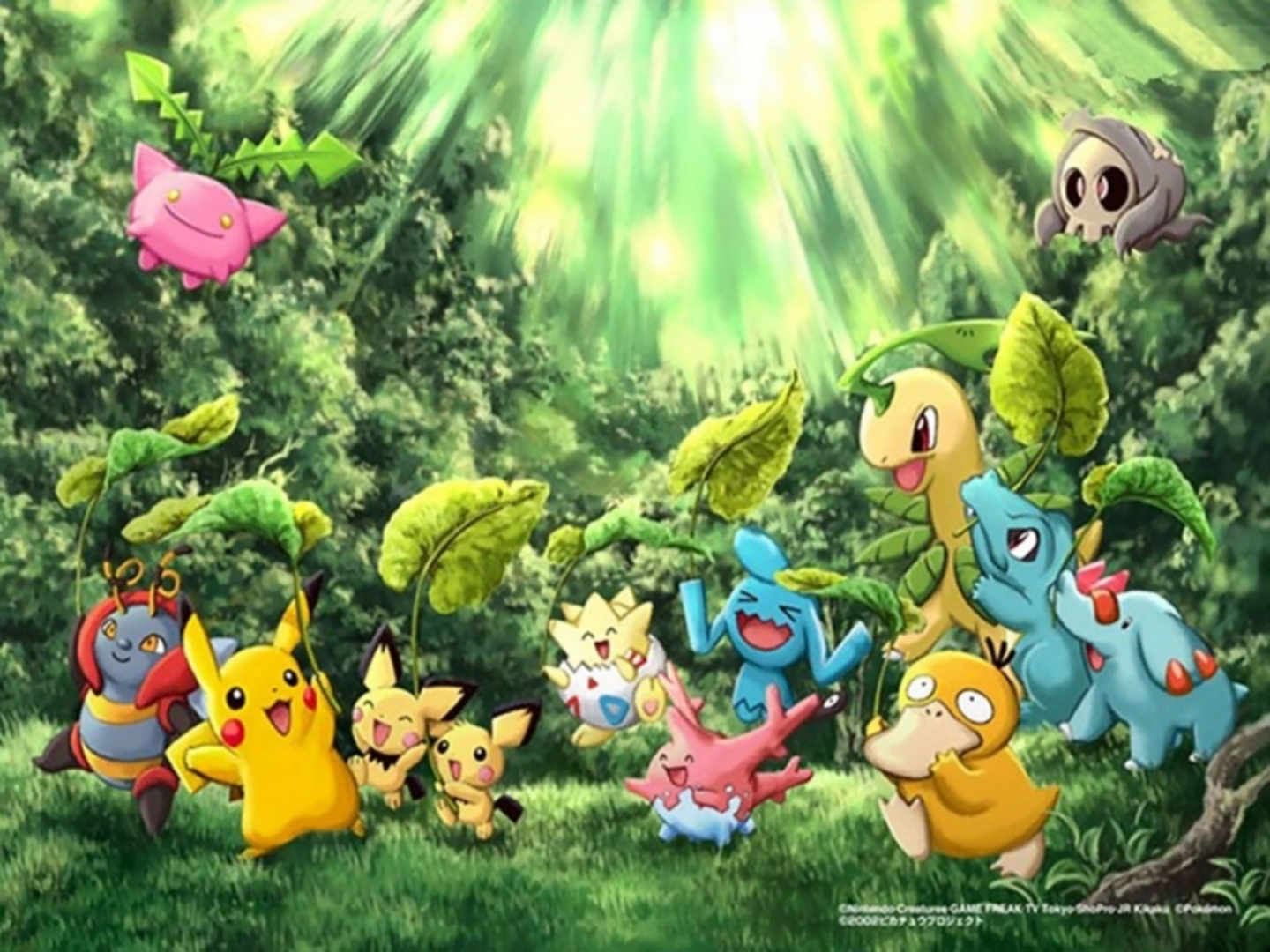 Pokemon HD Wallpapers 1080p - WallpaperSafari
