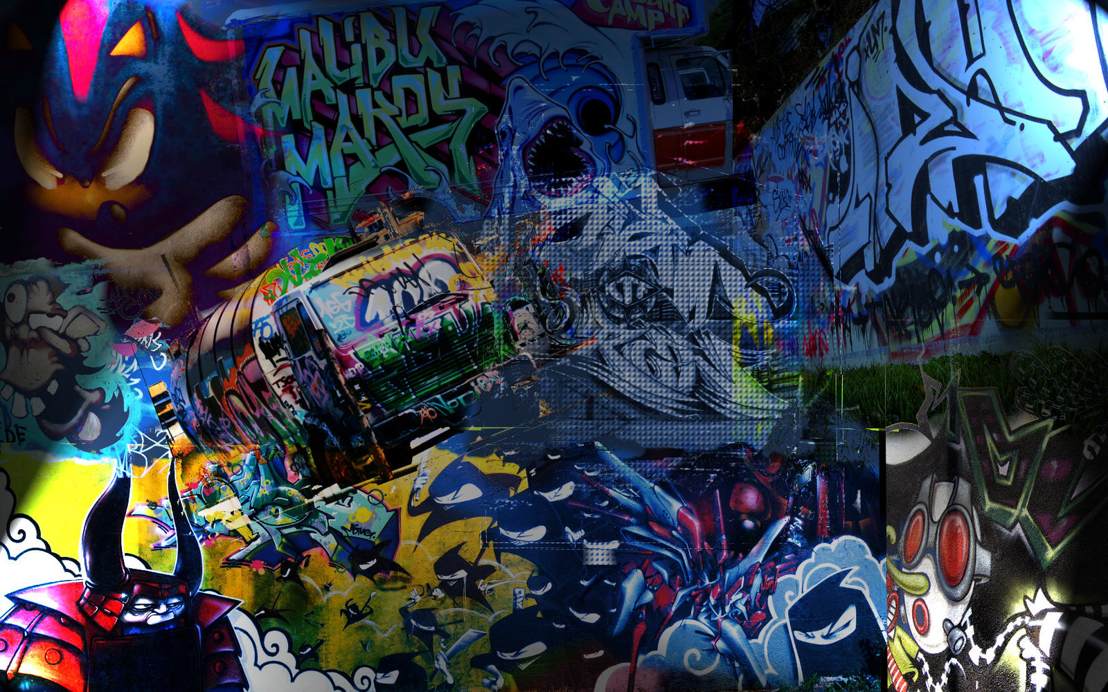 Free Graffiti Wallpapers HD Desktop | Ideas for the House