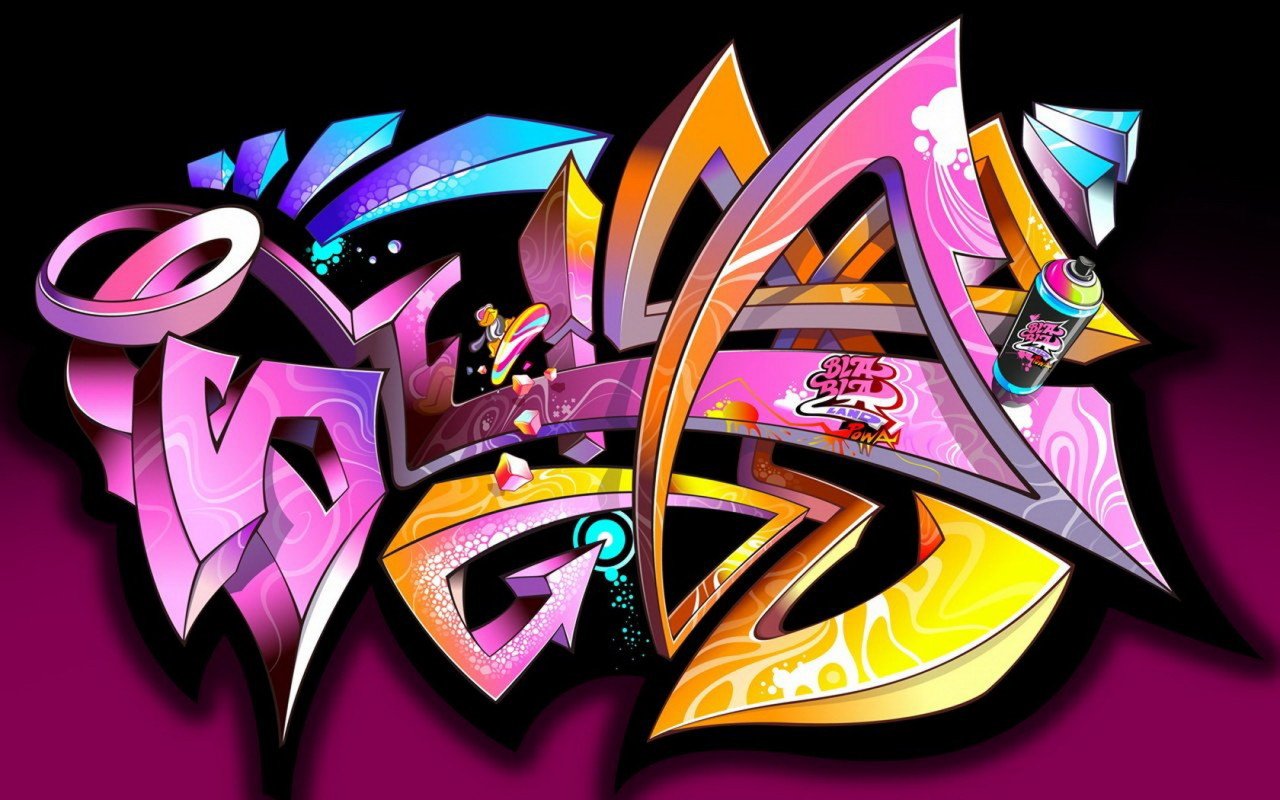 Free graffiti wallpapers group 77
