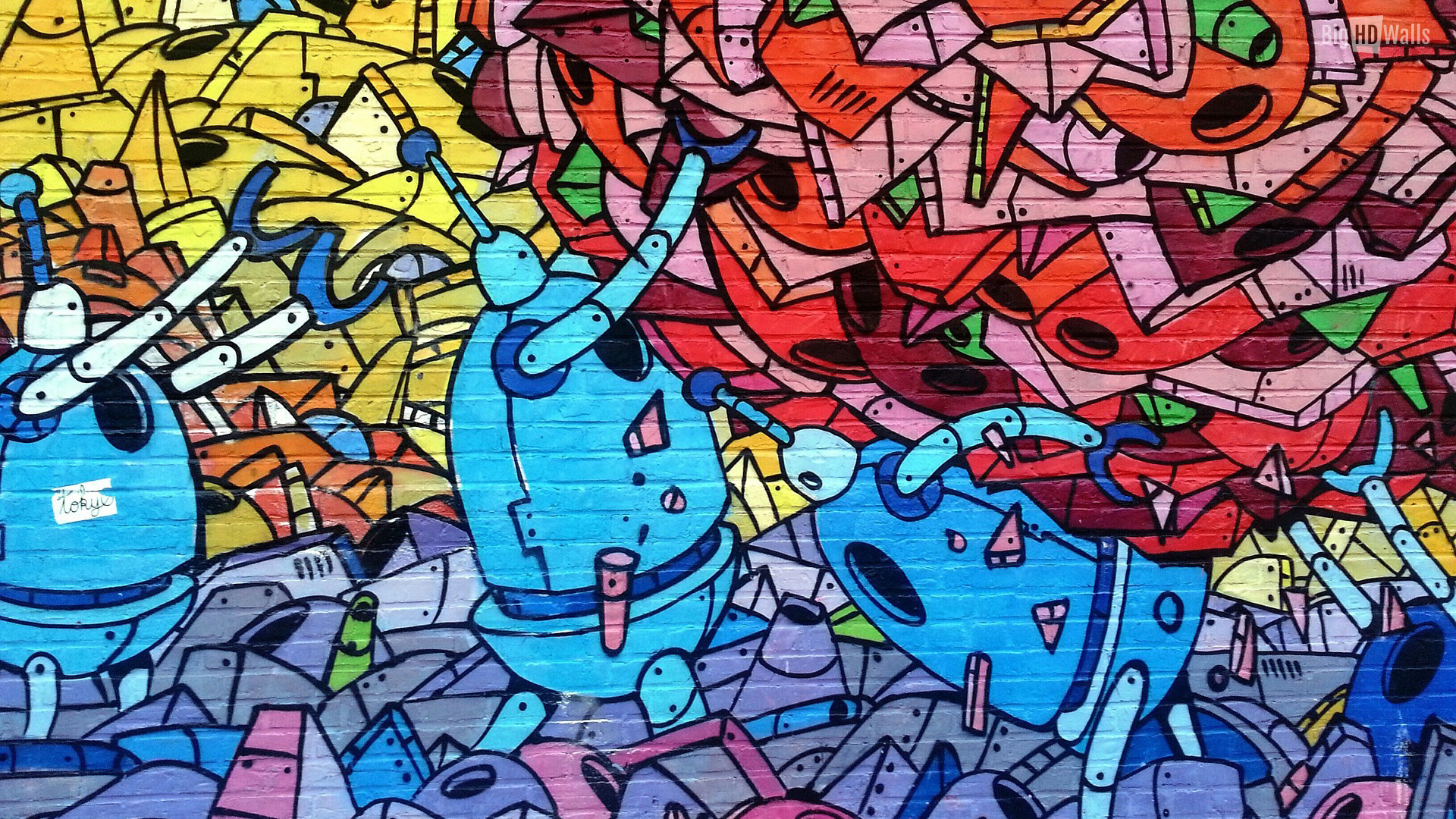 Free Graffiti Wallpapers Group (77+)