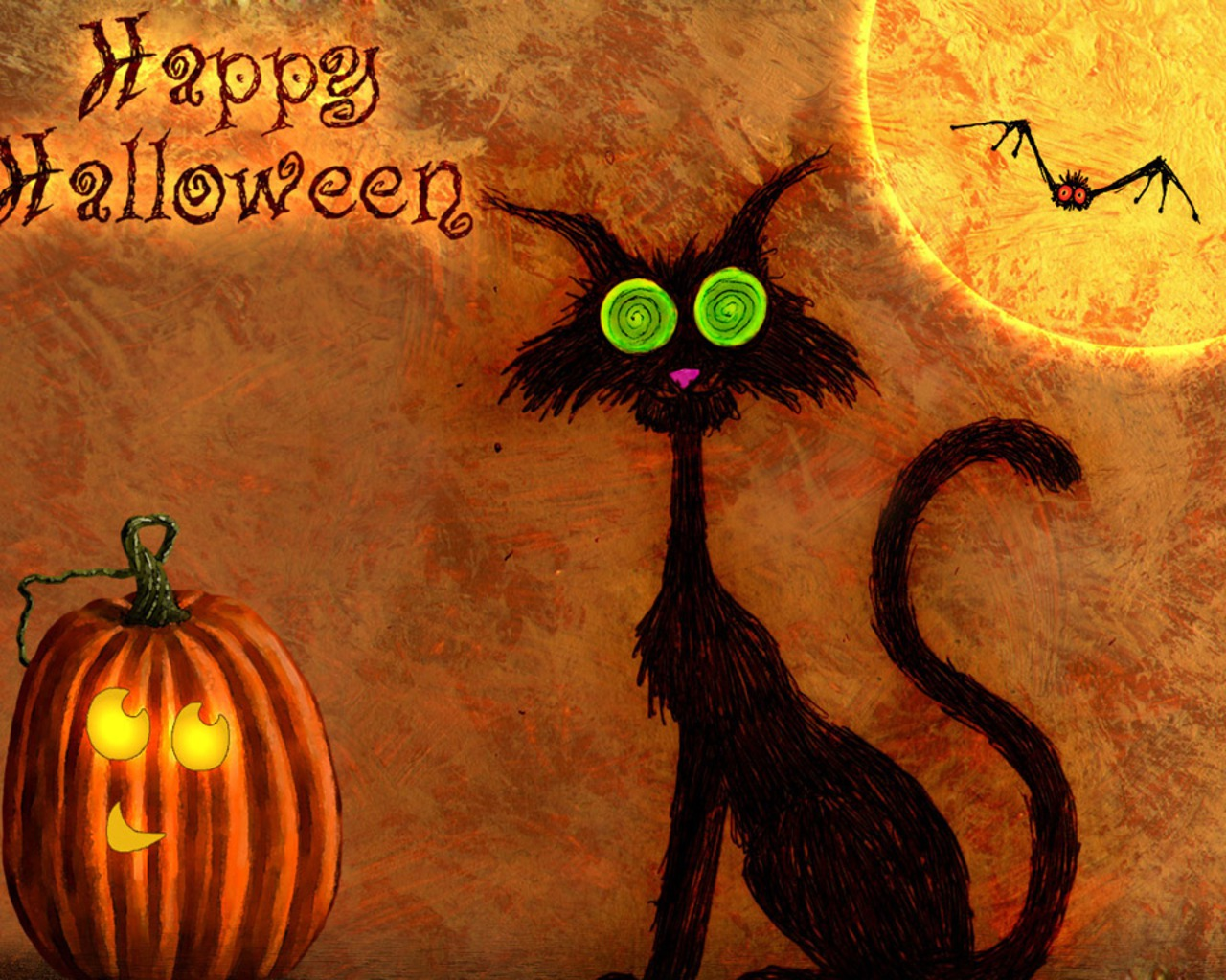 Free Halloween wallpaper | 1280x1024 | #47137