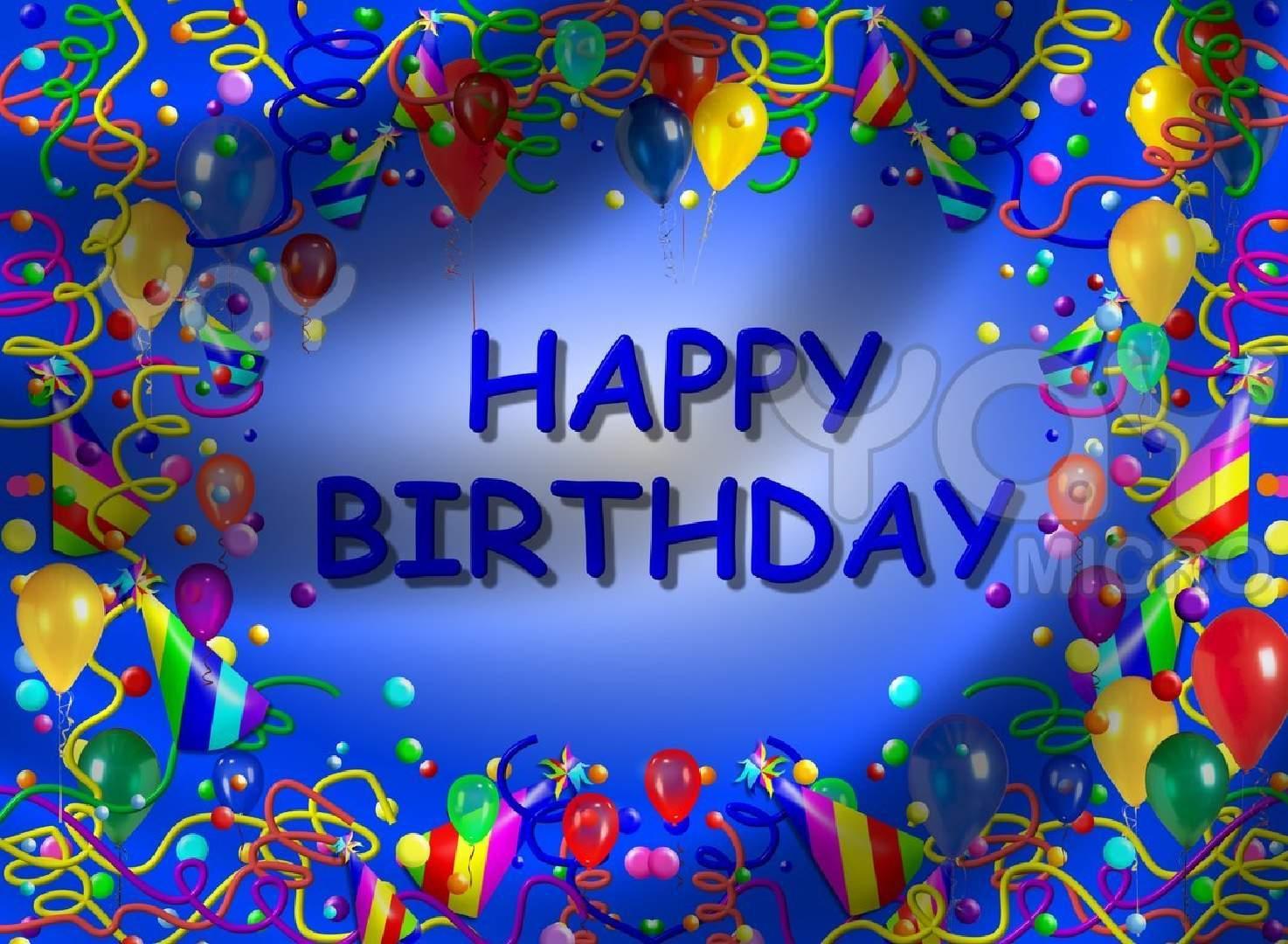 free happy birthday wallpaper - sf wallpaper