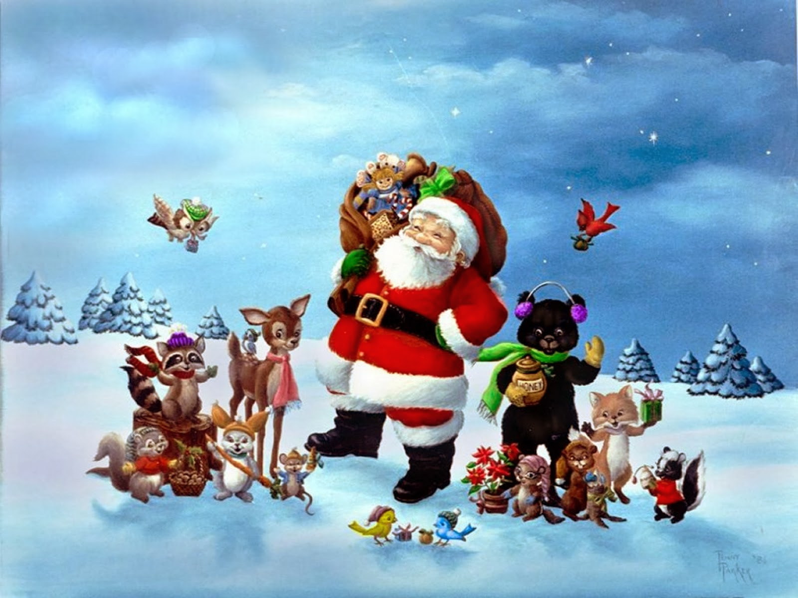 57 3d christmas wallpapers free Pictures