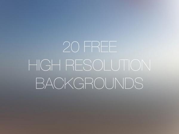 20 Free High Resolution Backgrounds - FreebiesXpress
