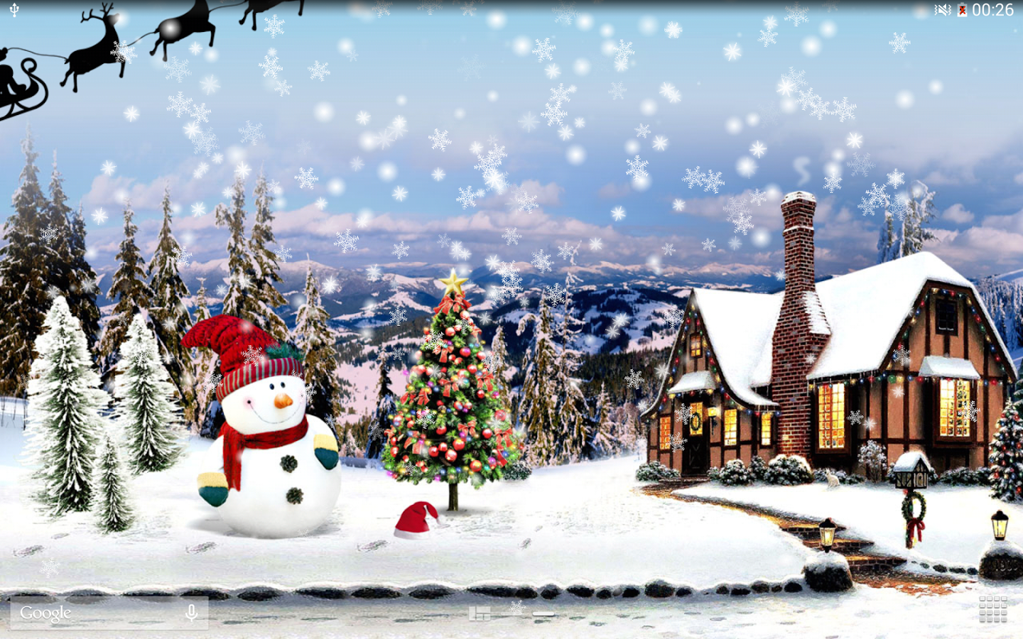 Top 10 free Christmas live wallpapers for Android
