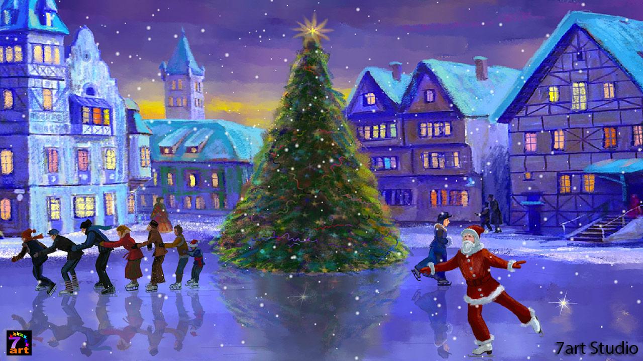 Christmas Live Wallpaper for Computer - WallpaperSafari