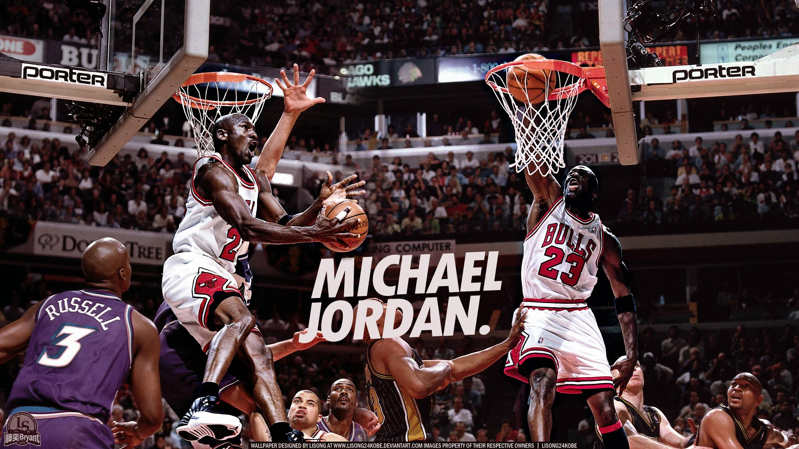 Michael Jordan Wallpaper GJ
