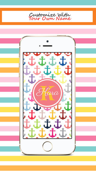 Designer Monogram Lite - Beautiful Custom Theme Wallpaper