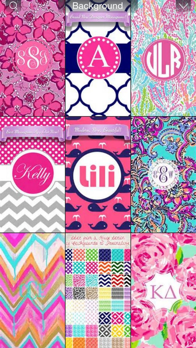 Free Monogram Wallpapers For IPhone Group (23+)