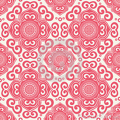 70s Wallpaper Pattern Royalty Free Stock Photos - Image: 28079178