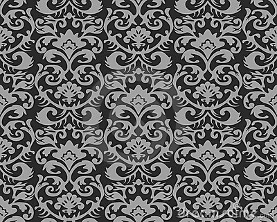 Vintage Wallpaper Pattern Royalty Free Stock Images - Image: 2535909
