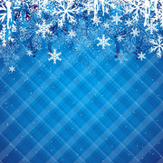 Winter Background Clip Art, Vector Winter Background - 1000