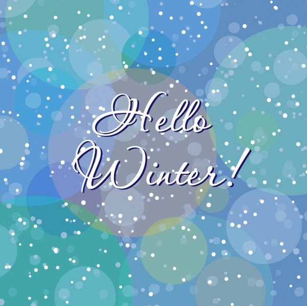 Winter background vector free vector download (43,228 Free vector