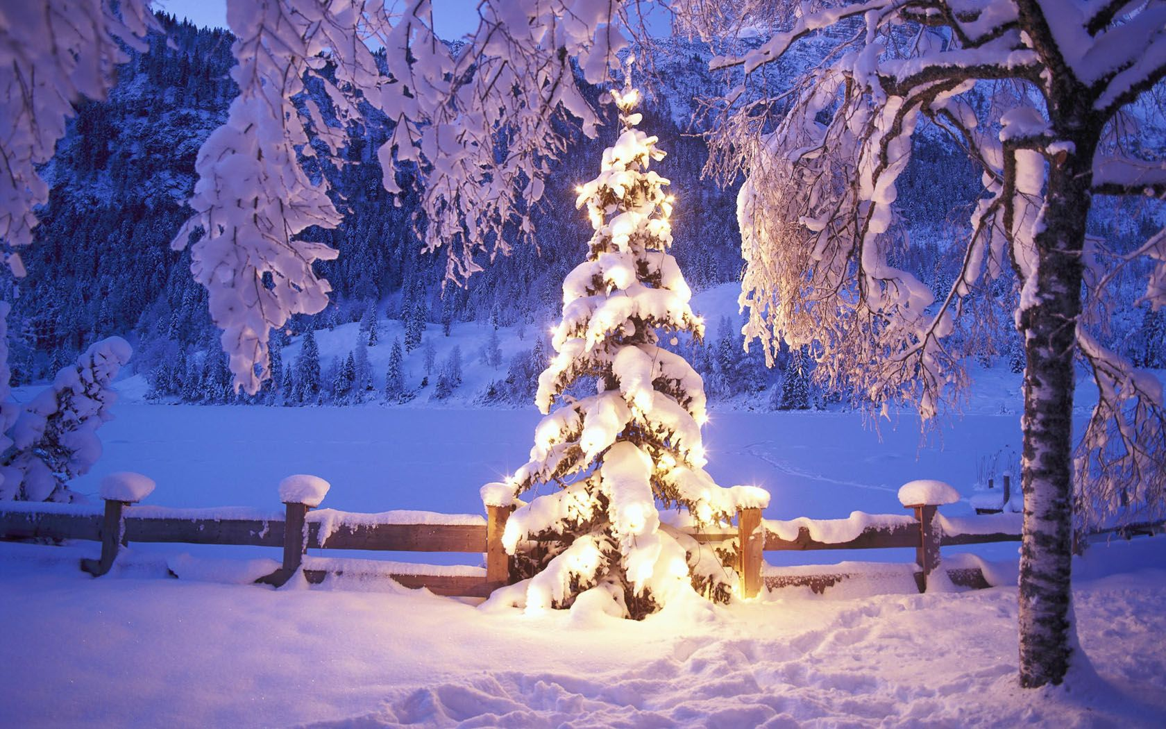 Wallpapers Winter Scenes Free (86+)