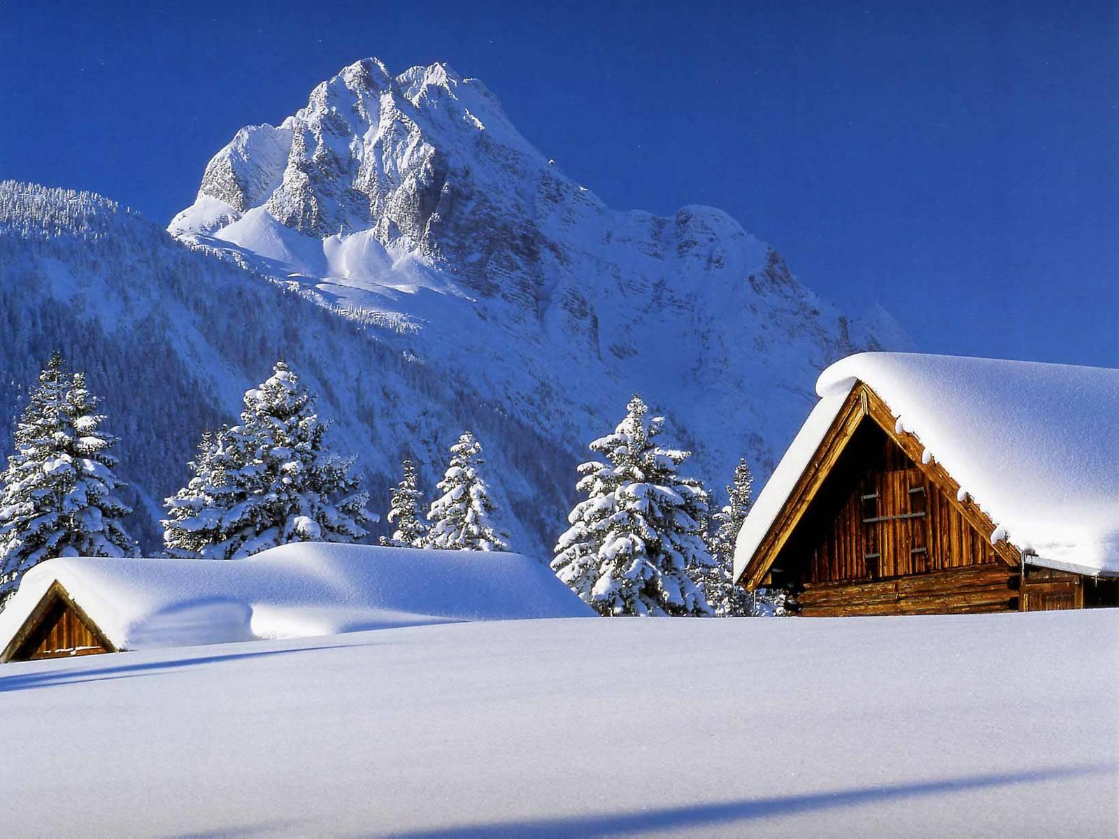 HD Free Wallpaper Winter Scene - WallpaperSafari