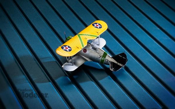 Free Wallpaper: Attack Squadron F2F-1 biplane | Finescale Modeler