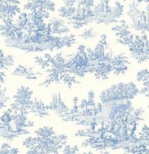 French Toile Wallpaper Sf Wallpaper