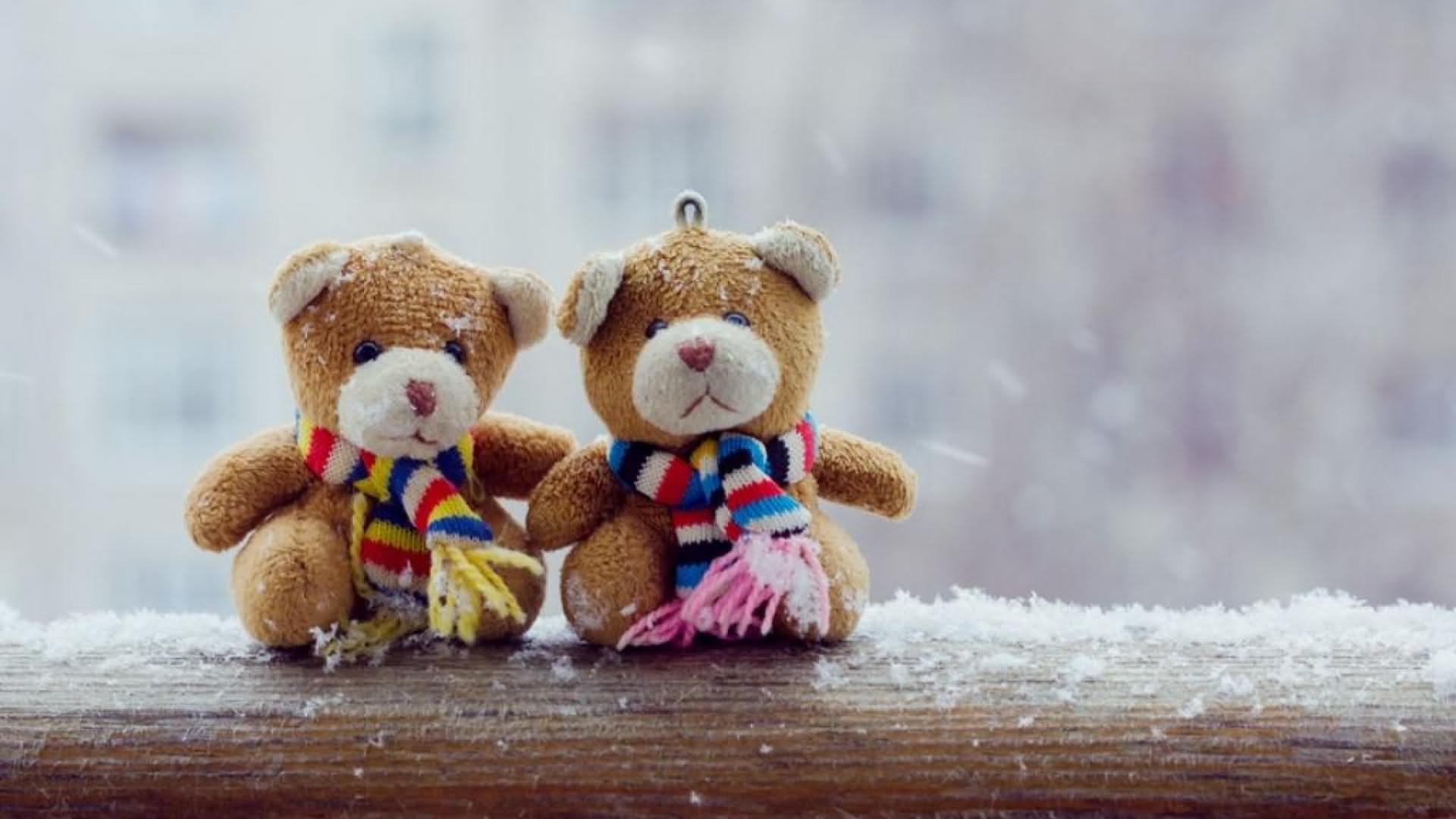 Cute Teddy Bears Friends Forever HD Wallpaper | PunjabiGraphics com
