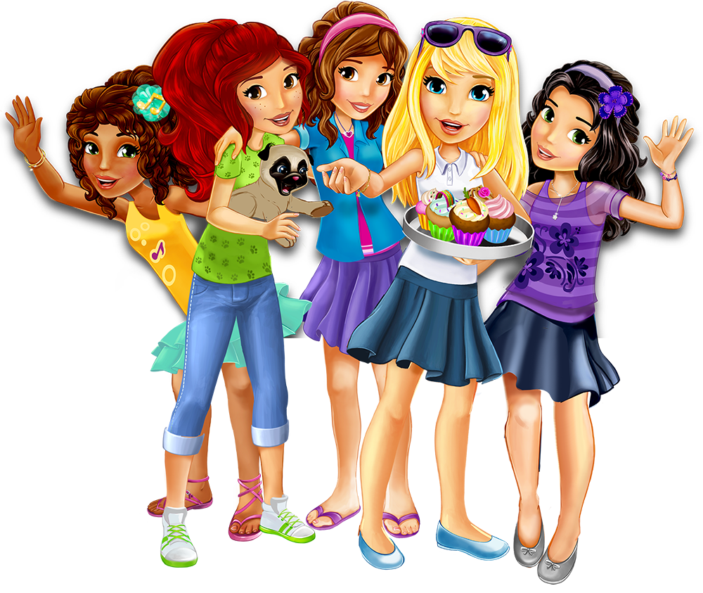 Let's be friends - Explore - LEGO® Friends™ - LEGO com - Friends
