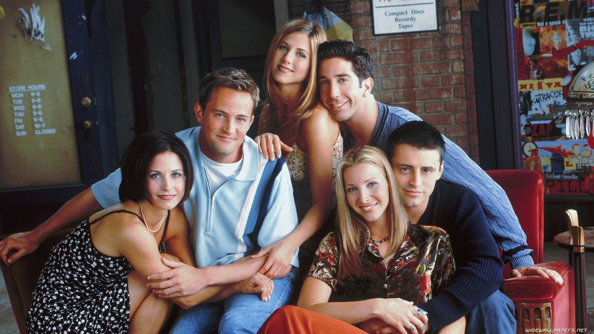 Friends TV Show Wallpapers - Wallpaper Cave