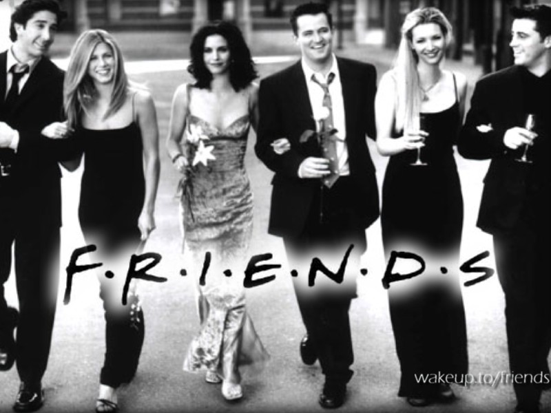 Crazy For Friends - Friends Wallpapers