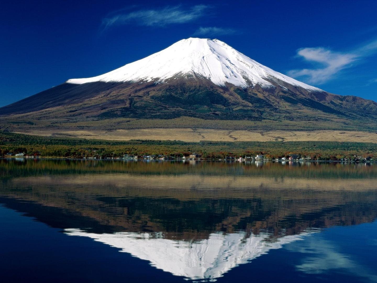 Mount Fuji Widescreen Wallpaper