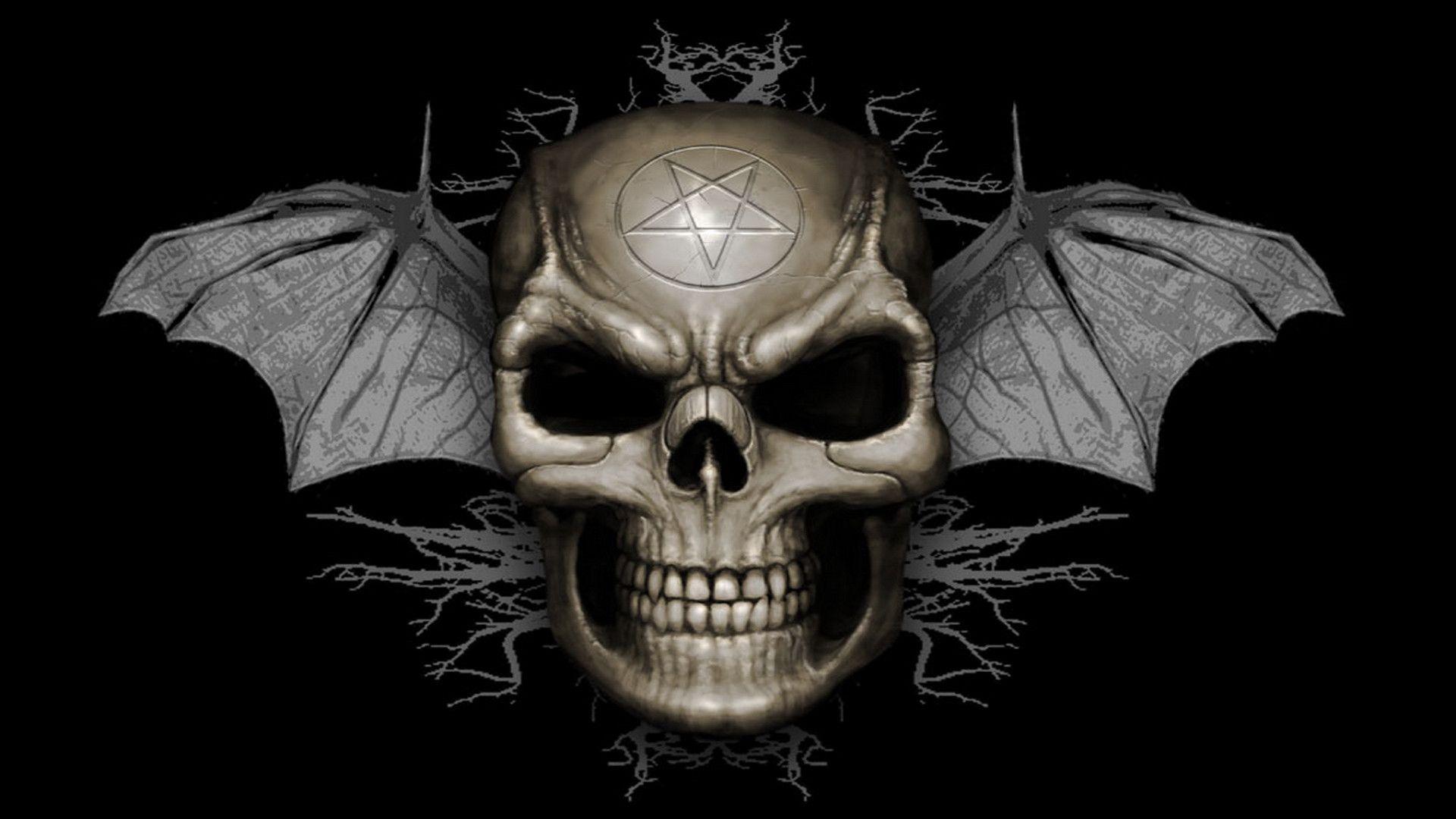 HD Skull Wallpapers - Wallpaper Cave