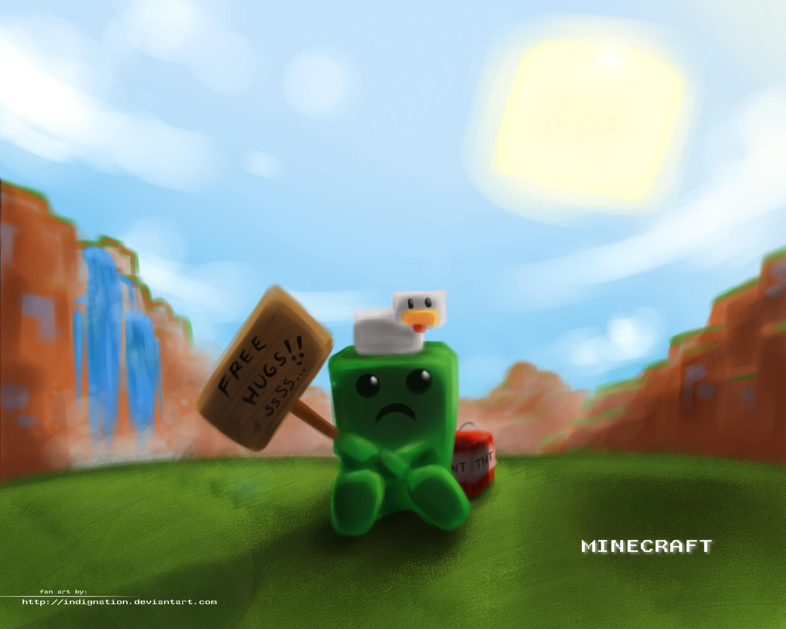 Most Inspiring Wallpaper Minecraft Poster - funny-minecraft-wallpaper-26  Pictures_593593.jpg