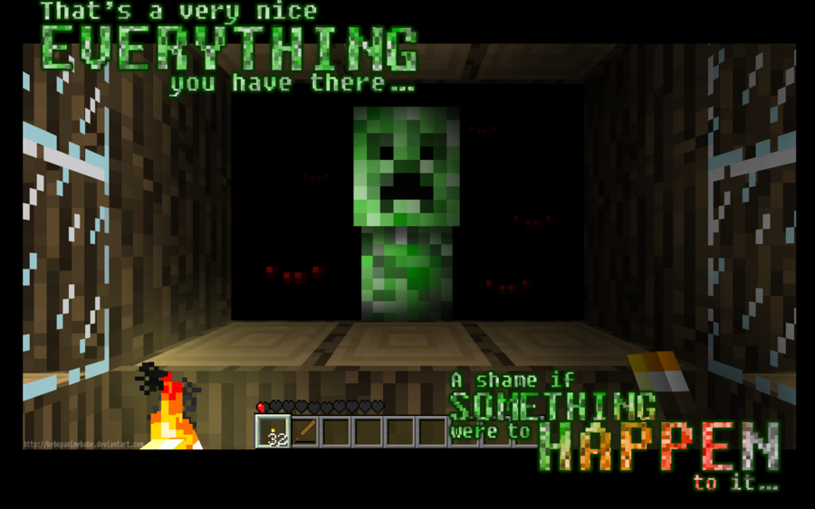 Funny Minecraft Wallpapers Group (74+)