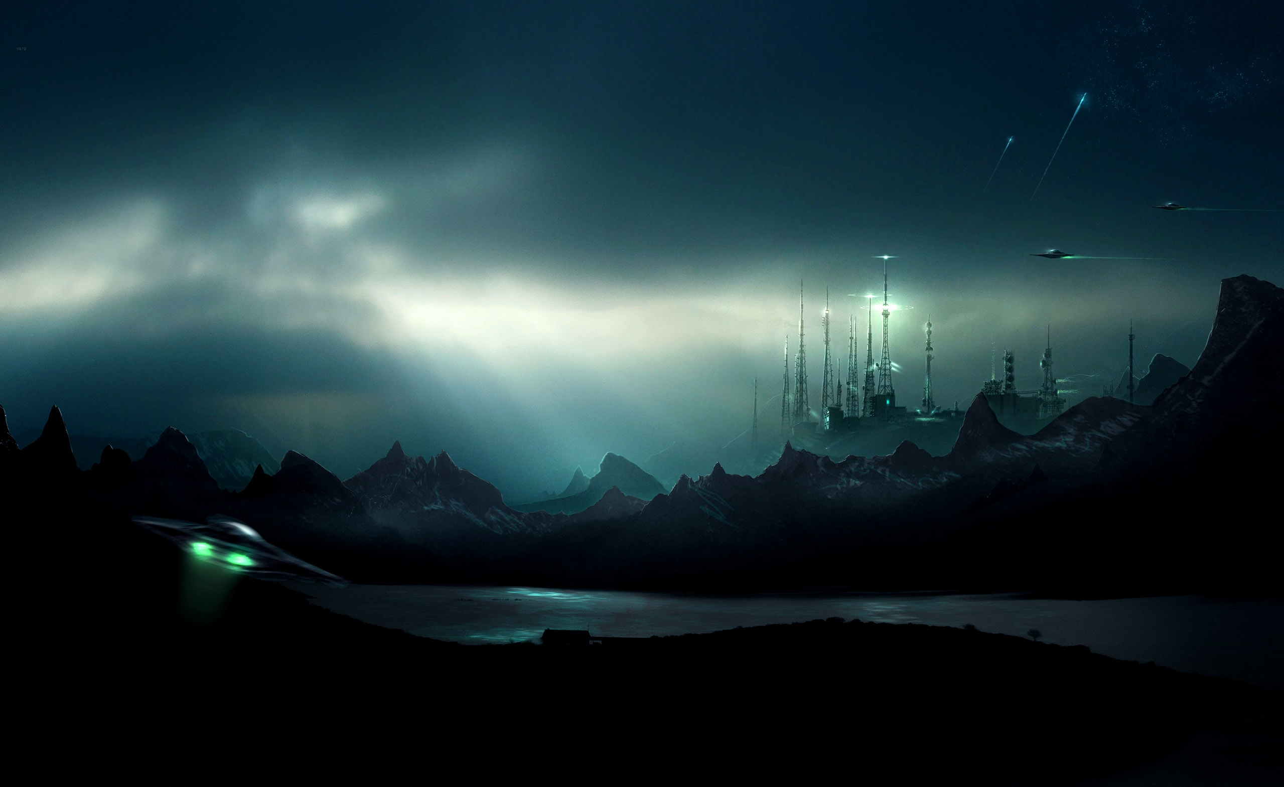 23 Futuristic HD Wallpapers | Backgrounds - Wallpaper Abyss