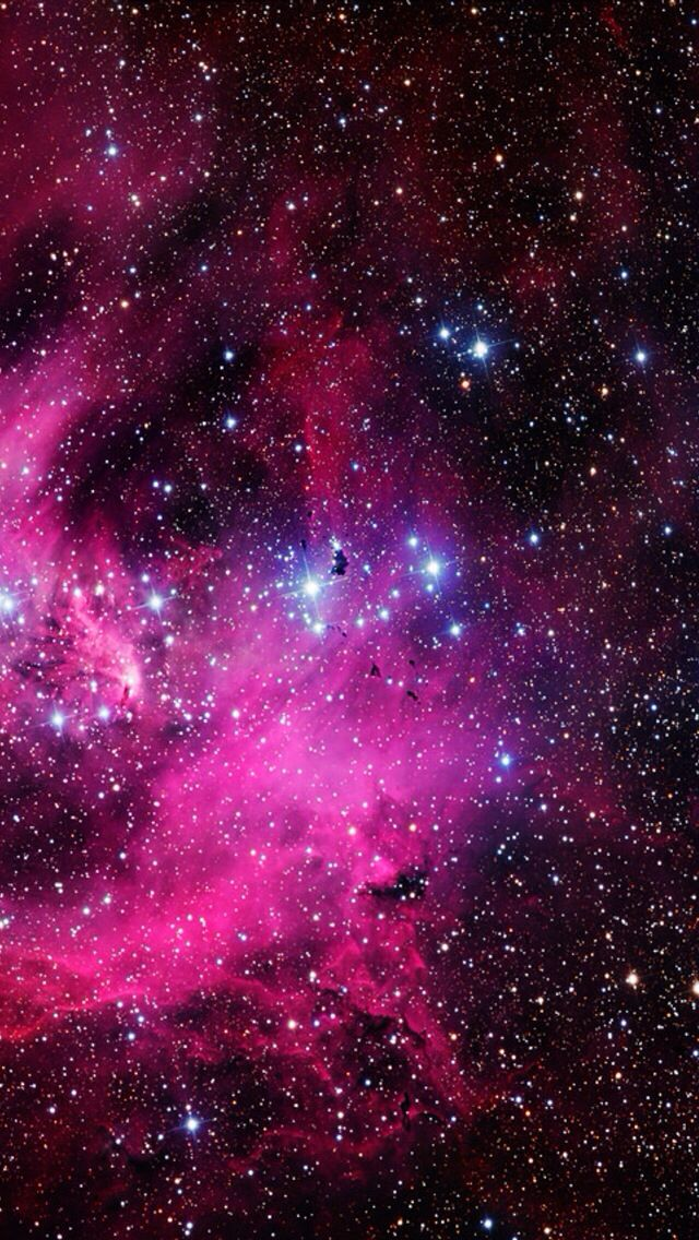 Pink Galaxy Wallpaper