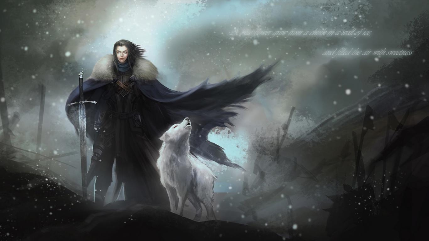 Game of Thrones: Snow Desktop Background HD 1920x1080 | deskbg com