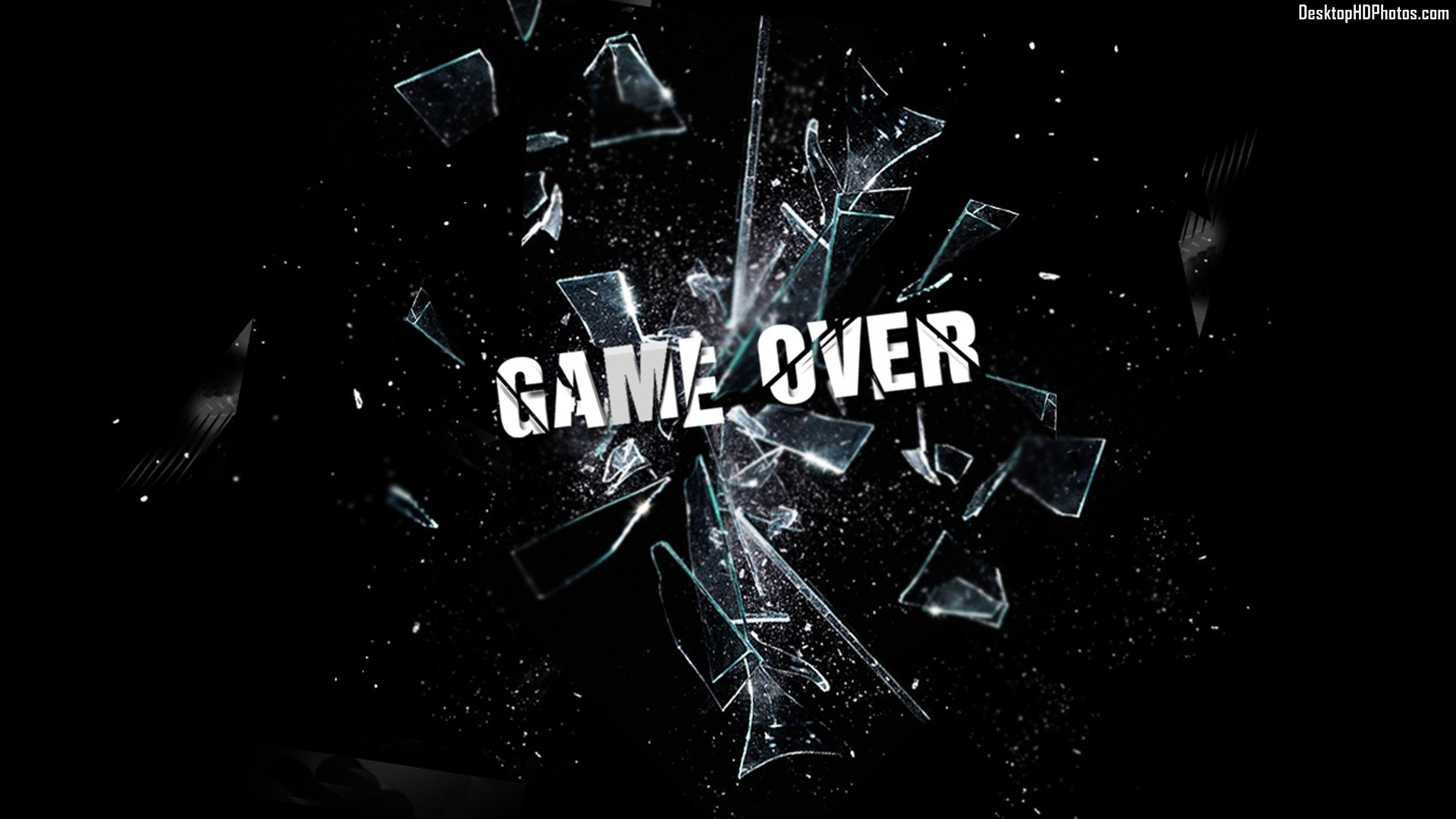 Game over wallpaper - SF Wallpaper