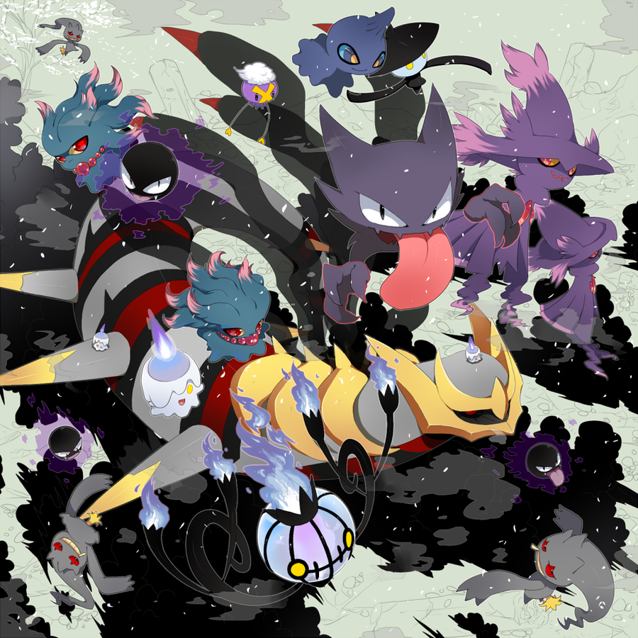Ghost Type Pokemon Wallpaper - WallpaperSafari