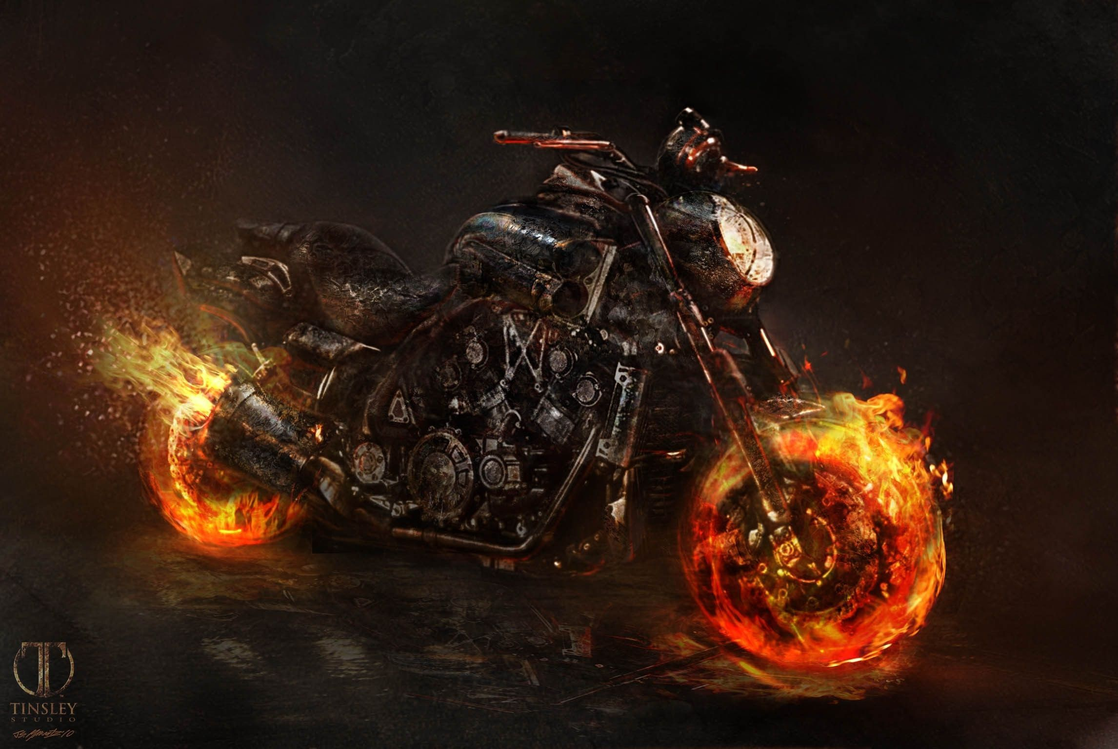 Ghost Rider 2 Wallpapers Sf Wallpaper
