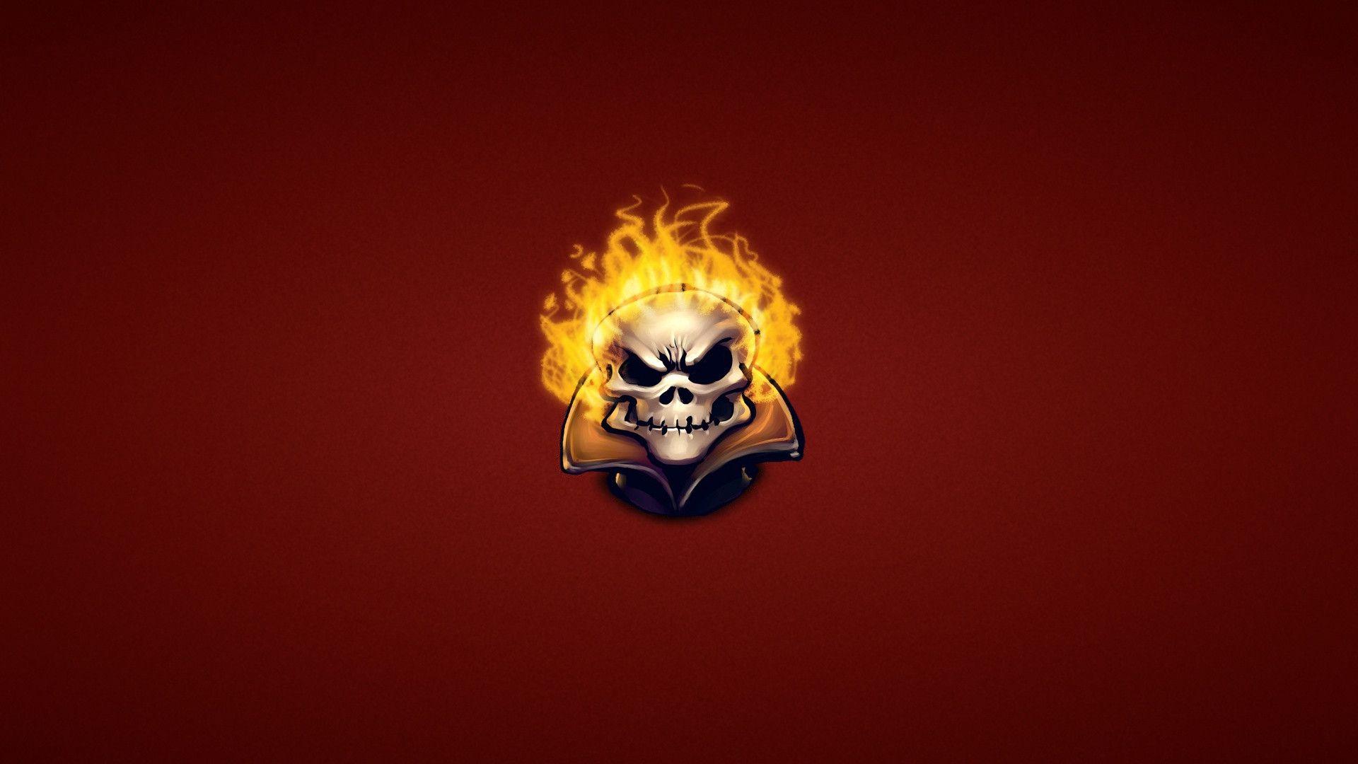 Ghost Rider Skull Wallpapers - Wallpaper Cave