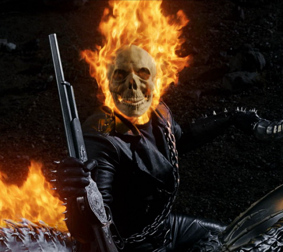 Download Ghost Rider 960 X 854 Wallpapers - 1800237 | mobile9