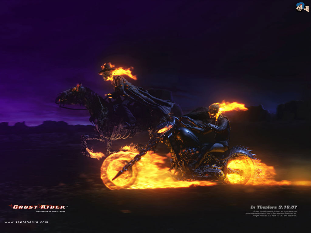 Ghost Rider Movie Wallpaper #3