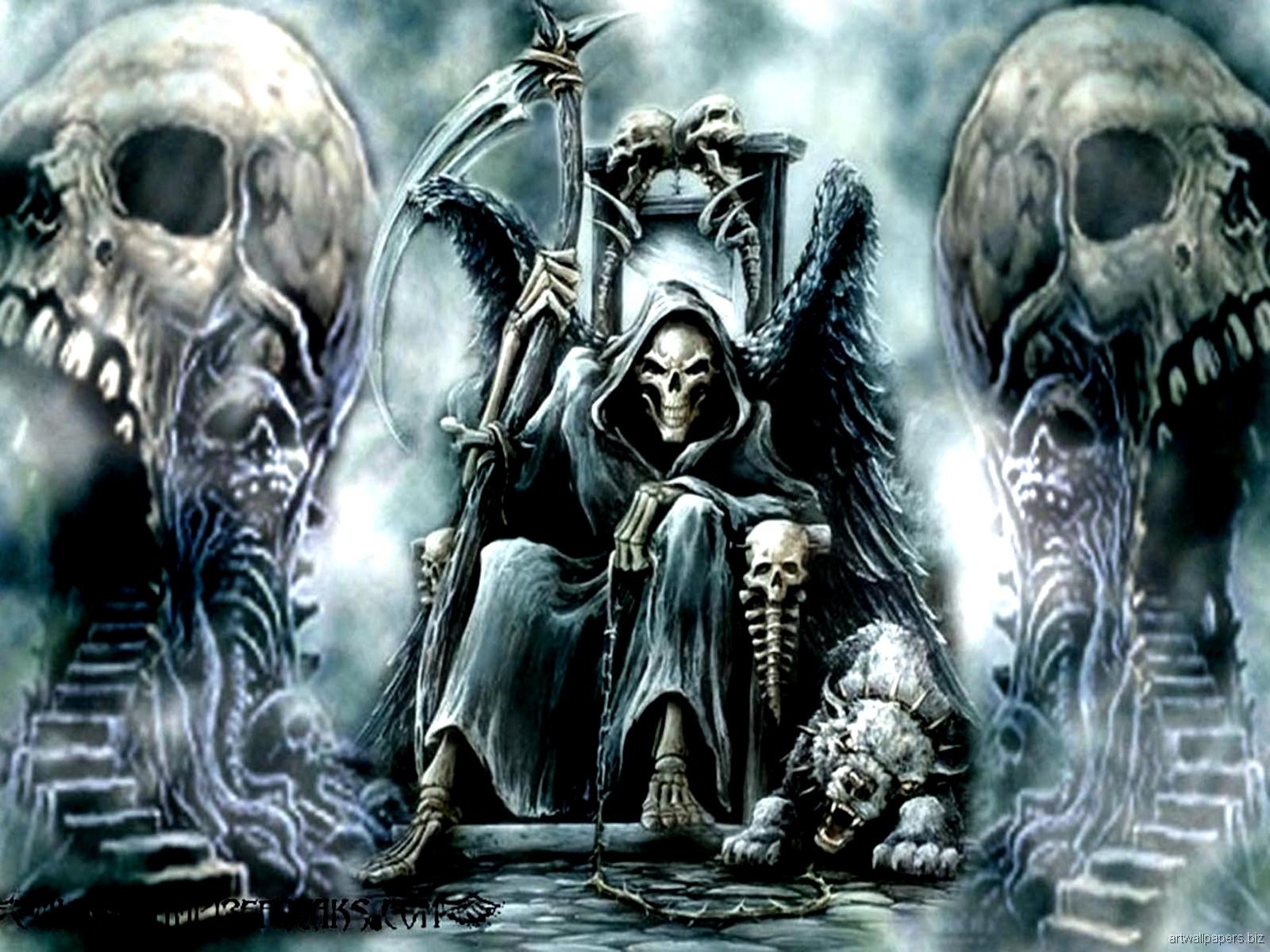 Skull wallpaper | 1600x1200 | #35650