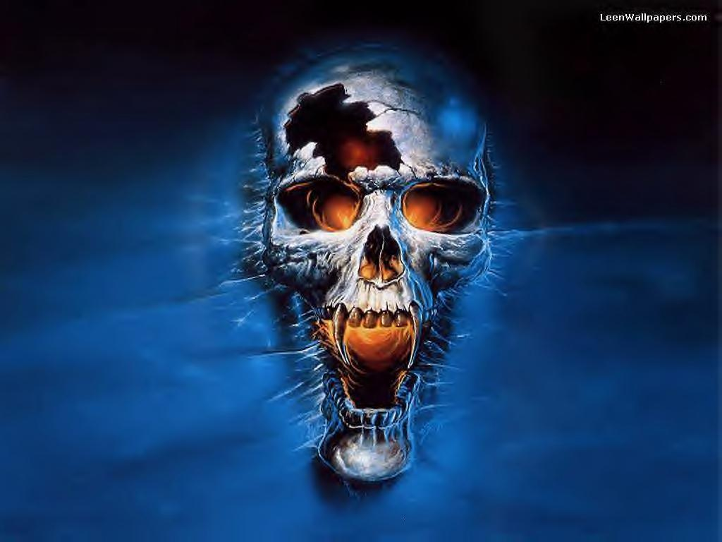 Scary Skull Wallpapers - Wallpaper Cave